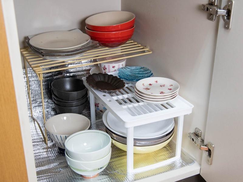 整理収納した食器棚のイメージ