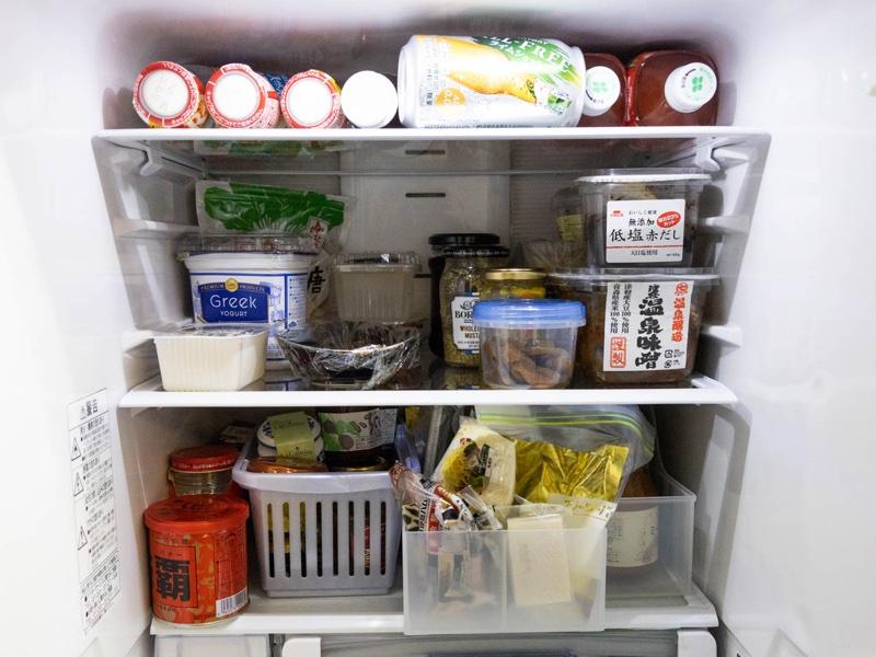 整理収納後の冷蔵庫のイメージ