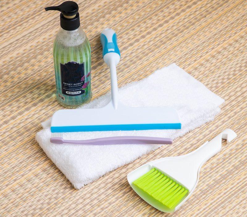 窓掃除の道具の一例