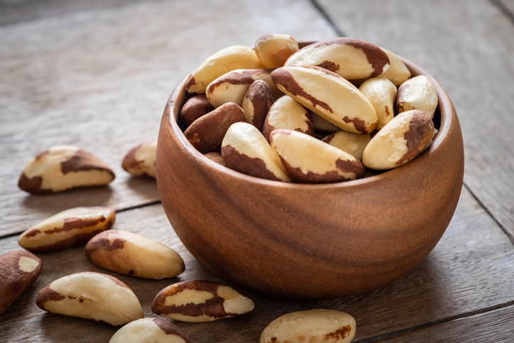 10種類のナッツ、目的別の選び方 ブラジルナッツ