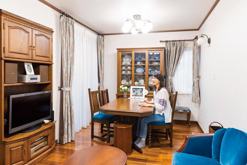 エッセイストの岸本葉子さんの自宅