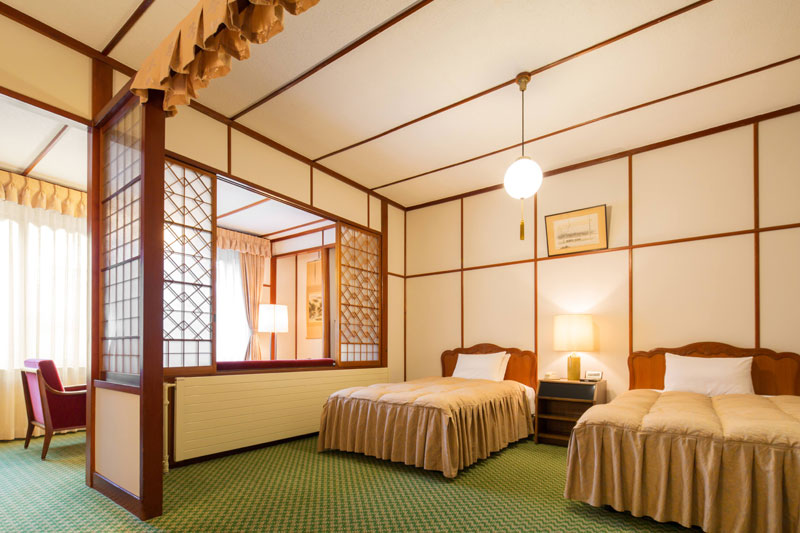 「万平ホテル」客室