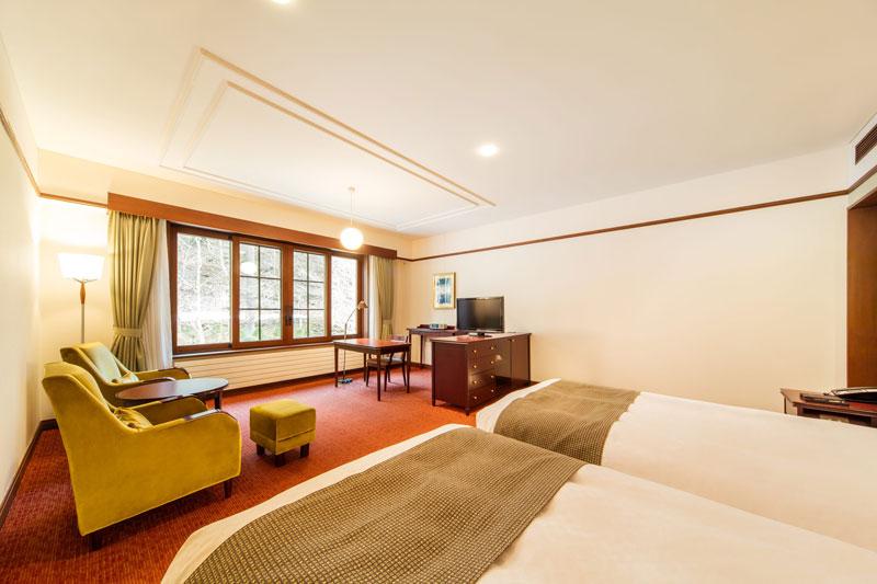「万平ホテル」のウスイ館