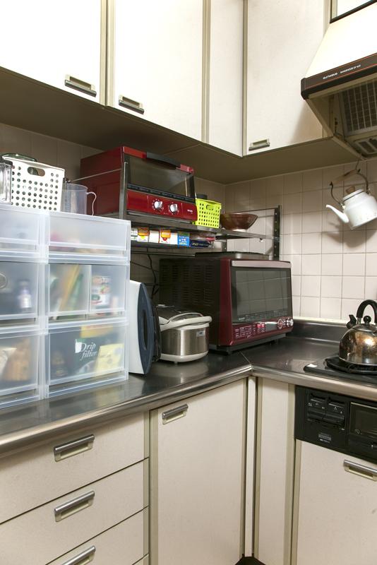 キッチン左側