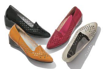 靴のニオイやムレ対策に。歩きながら靴の中の空気を循環させる新発想のパンプスが登場
