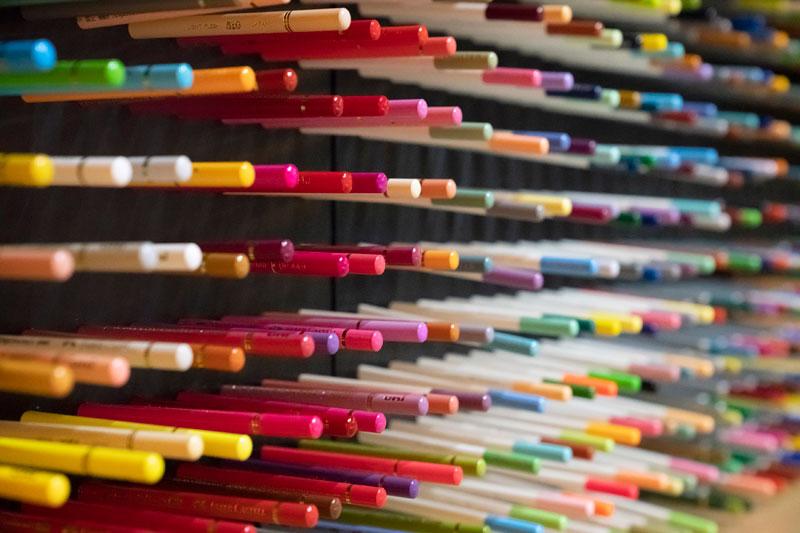 「星野リゾート 界 仙石原」の色鉛筆