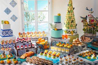 地中海料理のスイーツビュッフェが開催! 地中海沿岸の爽やか…