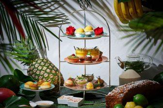 5つ星ホテル38階で南国の果物を楽しむ「エキゾチック アフタヌーンティー」[マンダリン オリエン…