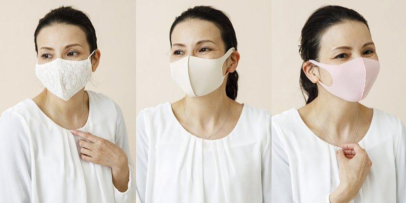 血色よく見えるマスクの付け方3パターン