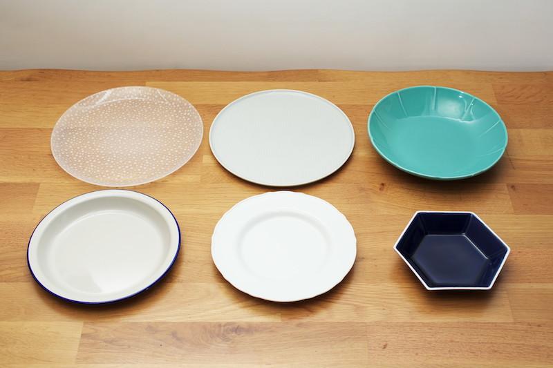 IKEAの皿6種