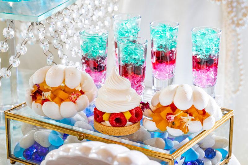 ヒルトン東京の夏のスイーツ・パーティー「クリスタル・マーメイドinホワイトラグーン」恋するマーメイド