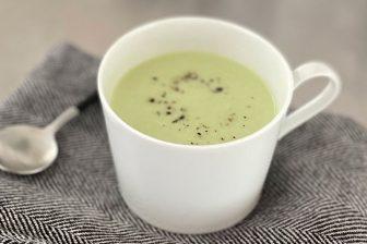 """手軽に買える""""和のスーパーフード""""を簡単スープに「枝豆のビシソワーズ」【市橋有里の美レシピ】"""