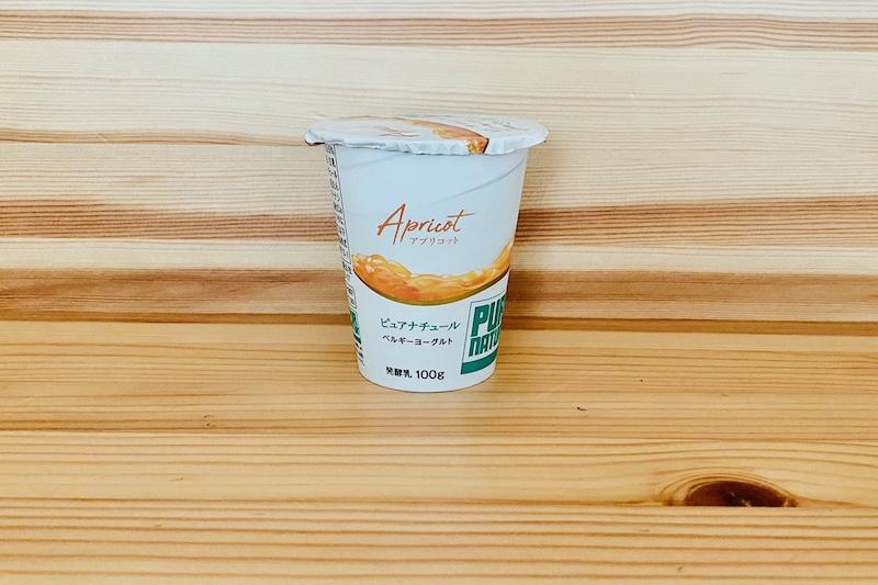カネカ食品のベルギーヨーグルト ピュアナチュール アプリコット