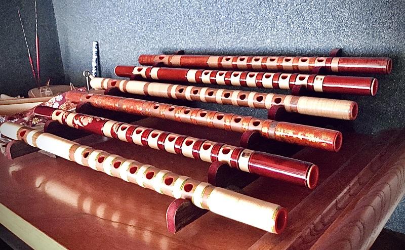 篠笛の写真
