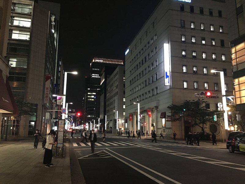 日本橋通りの風景