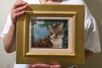 【64歳オバ記者のリアル】亡き愛猫を思って涙…気づいたら画家に絵を注文してた