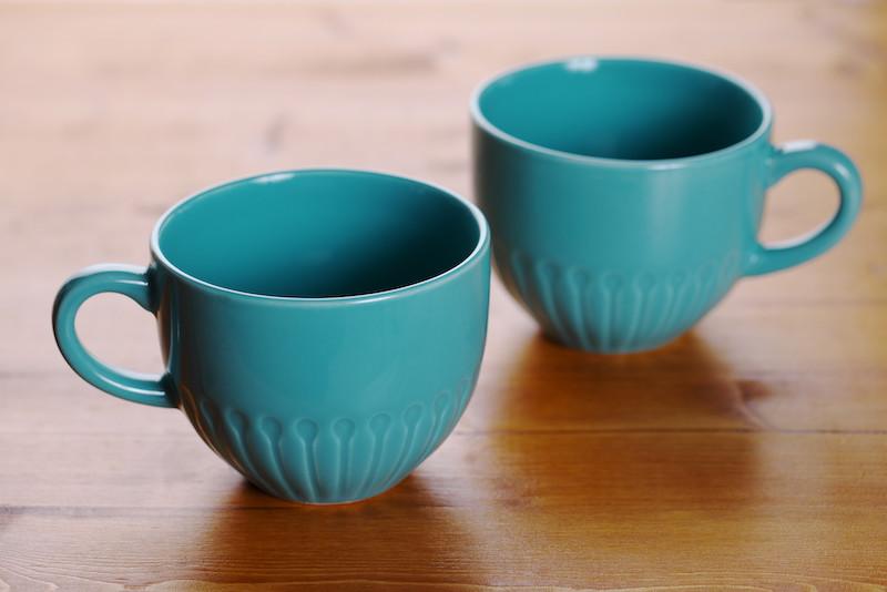 IKEAのマグカップ2個