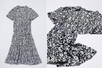 「黒×白」の花柄で大人っぽく!ZARAのシャツワンピ着まわし術【R50のファストファッション】