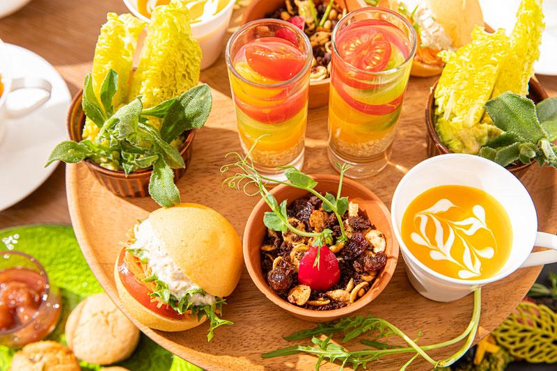 ザ・プリンスギャラリー 東京紀尾井町 「Flower Garden Vegan Afternoon Tea」セイボリー