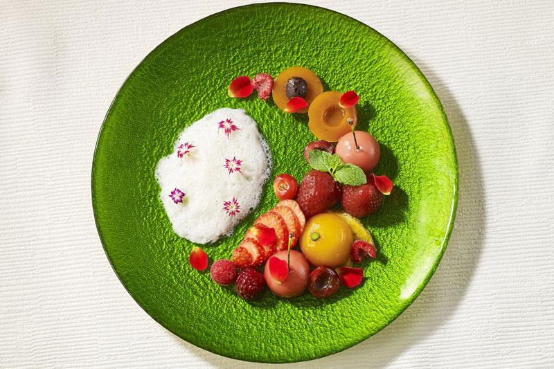「ザ・プリンス パークタワー東京」「Vegan Afternoon Tea~Playful Colors~」JERRY & FRUITS PLATE