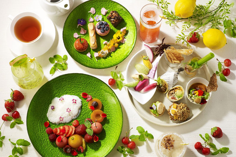 Vegan Afternoon Tea~Playful Colors~ イメージ(ザ・プリンス パークタワー東京)