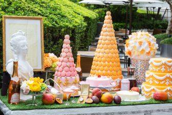 マンゴーや桃など旬のフルーツ満載!夏限定のマリーアントワネットアフタヌーンティー[グランド…