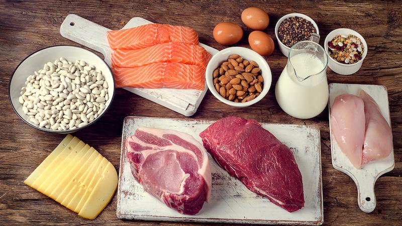 肉魚、卵、ナッツ、牛乳、チーズ