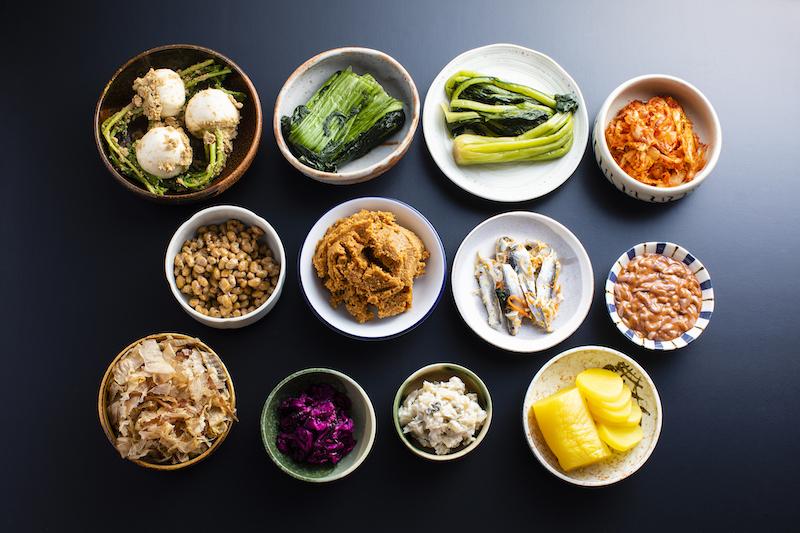 漬物などの発酵食品