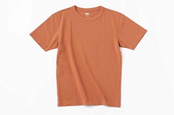 『クルーネックT(半袖)』orange