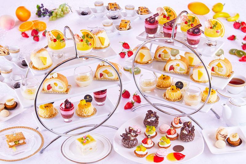 ホテルオークラ東京ベイ「Afternoon Tea ~ Colorful Fruits Palette ~」