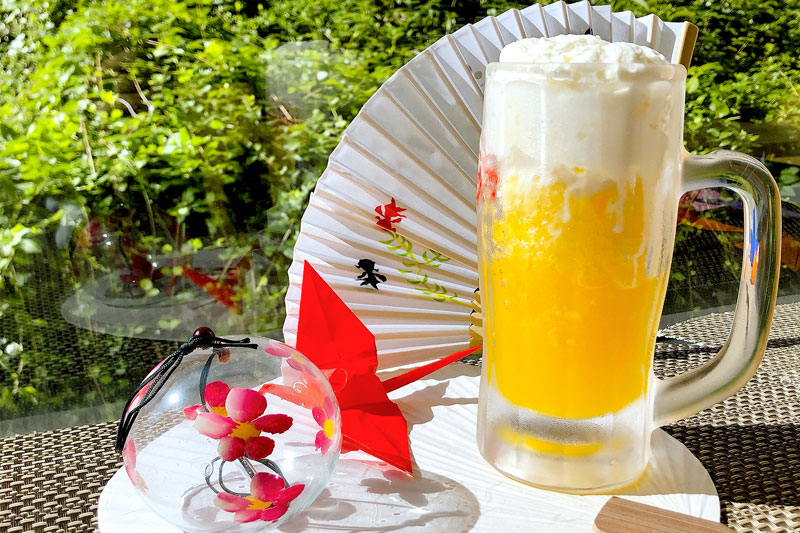 ビールジョッキ de かき氷