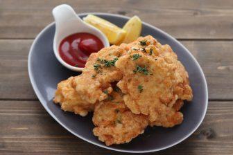 お弁当やおやつに最適!肉汁がクセになる簡単「チキンナゲット」【もあいかすみ ラクウマレシピ】