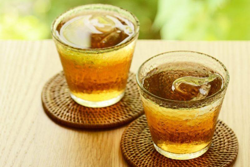 麦茶の写真