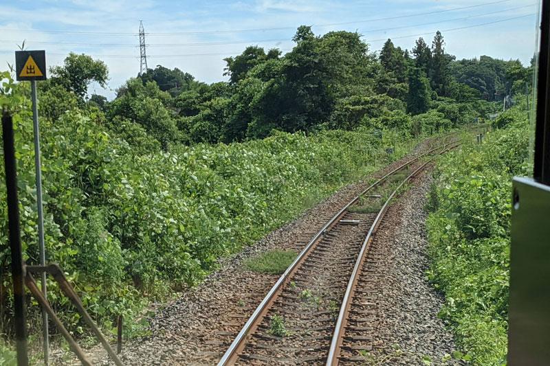 電車から見える風景