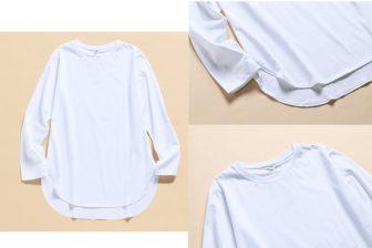 秋の重ね着に引っ張りだこ!ユニクロのテールTシャツが「絶…