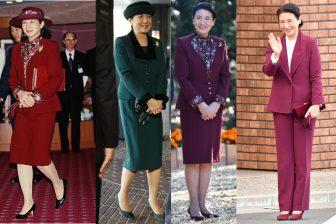 おしゃれ度抜群!皇后雅子さまの秋色ファッションは小物使…