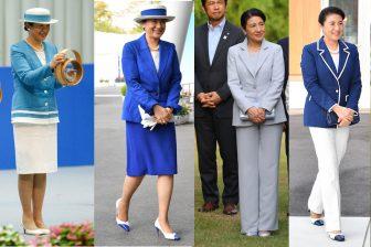 残暑をさわやかに!皇后雅子さまの9月のジャケットファッシ…