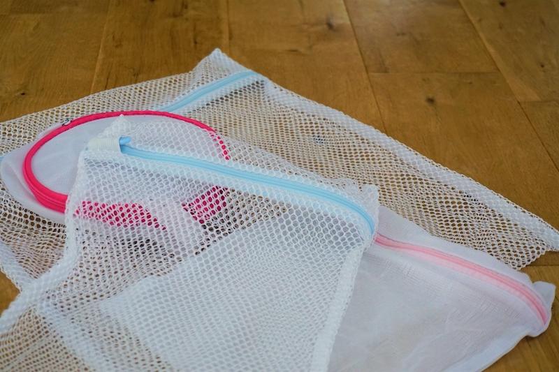 いろいろな形の洗濯ネット
