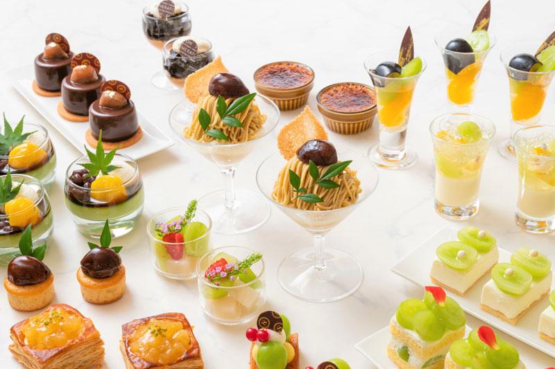 「横浜ベイシェラトン ホテル&タワーズ」のスイーツビュッフェ『Sweets Parade ~シャインマスカット&マロン~』