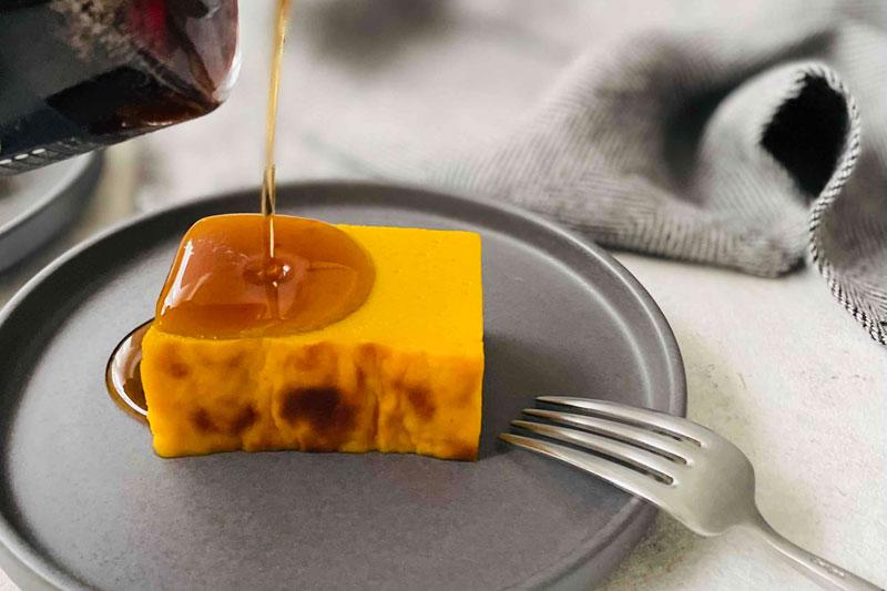 市橋有里さんが考案した「かぼちゃのプリン」