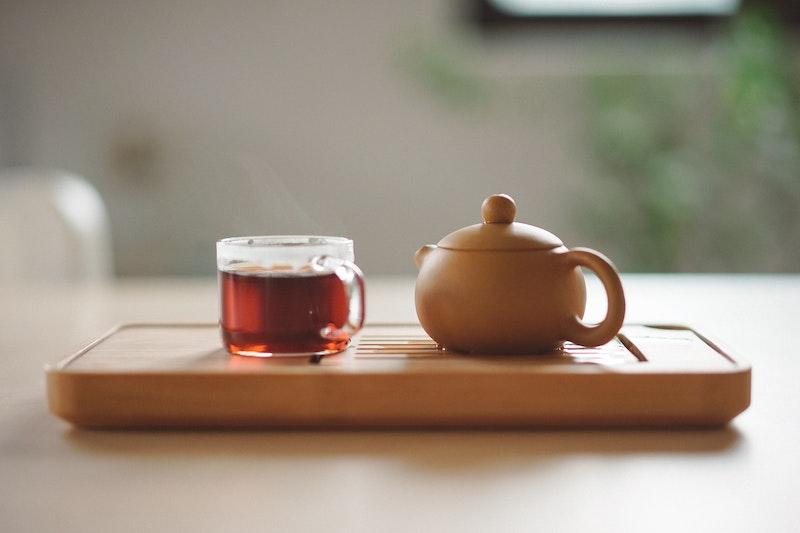 お茶とポット