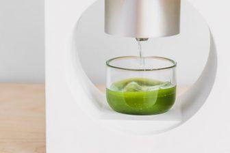 手軽に抹茶ドリンクを楽しめる「抹茶マシン」が登場!茶葉からひきたての本格的な味に