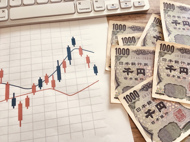 お金とグラフ