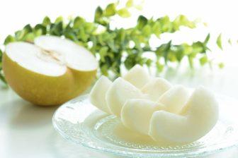梨をおいしく食べるコツと保存法|甘みは皮側が強いので「皮を薄くむく」