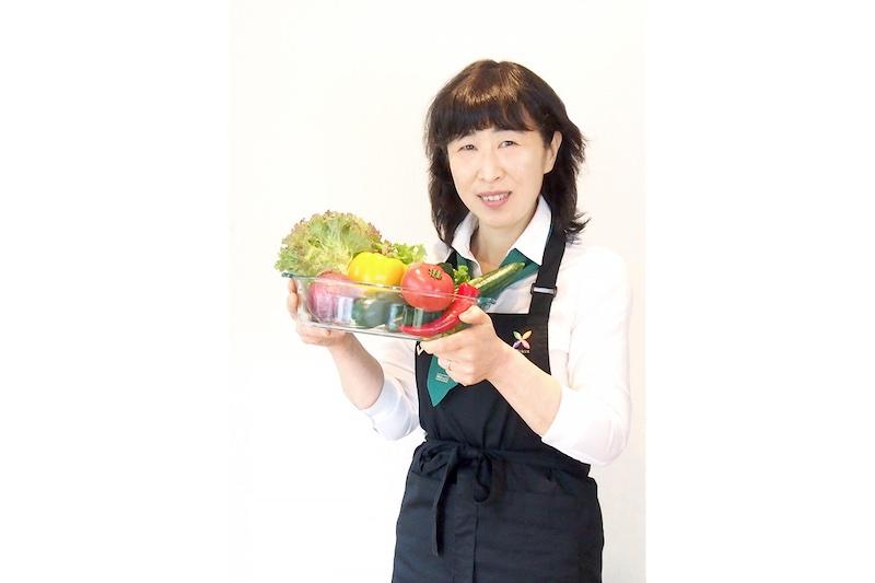 野菜ソムリエの福島玲子さん